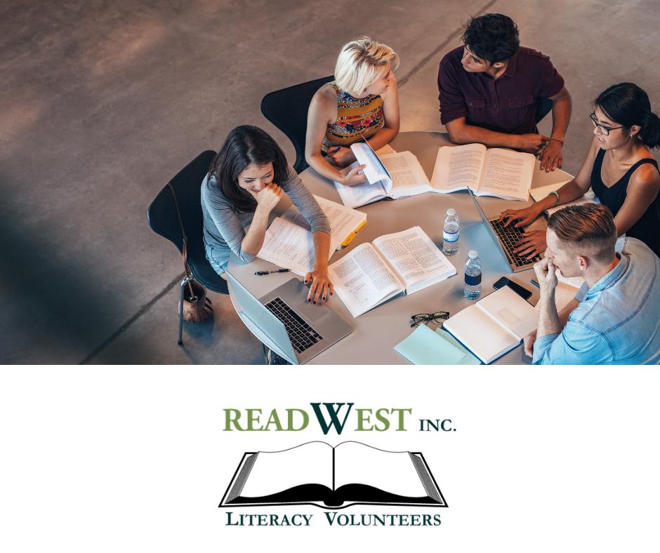 Study group literacy volunteers