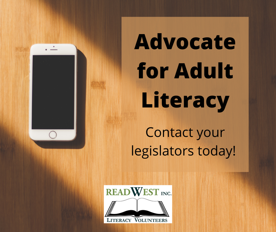 Advocate for Adult Literacy with mobile phone